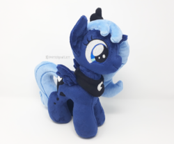 Size: 1000x828 | Tagged: alicorn, artist:hipsterowlet, female, filly, filly luna, irl, jewelry, mare, photo, plushie, pony, princess luna, regalia, safe, younger