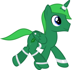 Size: 6540x6400 | Tagged: safe, artist:parclytaxel, oc, oc only, oc:moss hooves, alicorn, genie, pony, .svg available, absurd resolution, alicorn oc, armband, horn ring, leg brace, male, running, simple background, solo, stallion, transparent background, vector, waistband, wing ring