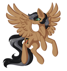 Size: 2166x2300 | Tagged: artist:amazing-artsong, female, mare, oc, oc:artsong, oc only, pegasus, pony, safe, simple background, smiling, transparent background