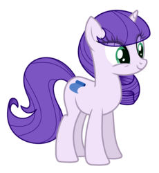 Size: 1024x1112 | Tagged: safe, artist:crystalponyart7669, oc, oc:fashionable line, pony, unicorn, female, magical lesbian spawn, mare, offspring, parent:rarity, parent:suri polomare, parents:surity, simple background, solo, transparent background