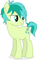 Size: 9400x15000 | Tagged: safe, artist:cirillaq, sandbar, earth pony, pony, school daze, absurd resolution, male, simple background, solo, transparent background, vector