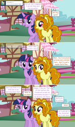 Size: 1280x2168 | Tagged: safe, artist:hakunohamikage, adagio dazzle, twilight sparkle, alicorn, pony, ask-princesssparkle, adagilight, ask, female, lesbian, ponified, shipping, tumblr, twilight sparkle (alicorn)