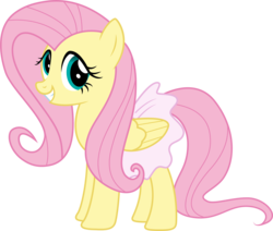 Size: 4151x3525 | Tagged: safe, artist:paganmuffin, fluttershy, pegasus, pony, absurd resolution, ballerina, cute, female, flutterina, foal house, mare, shyabetes, simple background, solo, transparent background, vector