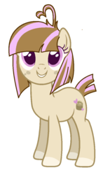Size: 632x1004 | Tagged: safe, artist:crystalponyart7669, oc, oc:cinnamon, earth pony, pony, female, mare, simple background, solo, transparent background