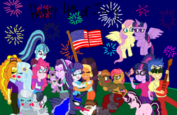 Size: 3024x1968 | Tagged: 4th of july, adagio dazzle, alicorn, artist:ktd1993, babs seed, blushing, button mash, buttonseed, dog, equestria girls, female, flashlight, flash sentry, fluttershy, holiday, independence day, kissing, lesbian, lunapip, male, oc, oc:magpie, pinata (ship), pinkie pie, pipsqueak, princess luna, raffron, rarity, rumble, rumblespoon, safe, saffron masala, sci-twi, shipping, silver spoon, sonata dusk, sparlight, spike, spike the dog, starlight glimmer, straight, sunglasses, triagio, trixie, twilight sparkle, twilight sparkle (alicorn), twishy, twolight