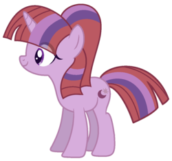 Size: 996x934 | Tagged: safe, artist:crystalponyart7669, oc, oc:moon dawn, pony, unicorn, base used, female, magical lesbian spawn, mare, offspring, parent:moondancer, parent:twilight sparkle, parents:twidancer, simple background, solo, transparent background