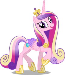Size: 4327x5000 | Tagged: safe, artist:dashiesparkle, princess cadance, alicorn, pony, .svg available, absurd resolution, female, hoof shoes, side view, simple background, solo, transparent background, vector