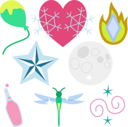 Size: 4123x4096 | Tagged: safe, artist:parclytaxel, oc, oc only, .svg available, absurd resolution, cutie mark, cutie mark only, no pony, simple background, transparent background, vector