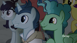 Size: 1920x1080 | Tagged: safe, screencap, fast break, final countdown, polo play, rosy pearl, sprout greenhoof, pony, unicorn, friendship university, discovery family logo, las pegasus resident