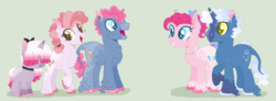 Size: 1024x376 | Tagged: artist:givolpon, family, female, male, offspring, parent:pinkie pie, parent:pokey pierce, parents:pokeypie, pinkie pie, pokeypie, pokey pierce, safe, shipping, straight