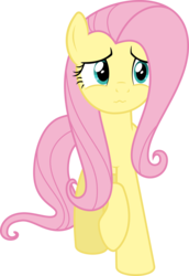 Size: 3000x4368 | Tagged: safe, artist:sollace, fluttershy, pony, scare master, .svg available, cute, female, mare, o~o, raised hoof, shyabetes, simple background, solo, transparent background, unsure, vector, wavy mouth