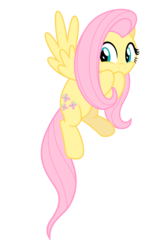 Size: 3800x5843 | Tagged: safe, artist:estories, fluttershy, pony, cute, female, high res, shyabetes, simple background, solo, transparent background, vector