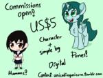 Size: 1600x1200 | Tagged: safe, artist:unicodingunicorn, human, commission info