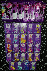 Size: 1557x2357 | Tagged: applejack, big macintosh, bitta luck, blind bag, blind bag card, blues, carrot top, cherry berry, ebay, ebay link, female, fluttershy, golden harvest, heartstrings, irl, lovestruck, lyra heartstrings, male, meadow song, merchandise, noteworthy, official, photo, pinkie pie, rainbow dash, rainbowshine, rarity, safe, toy, twilight sparkle, wave 3