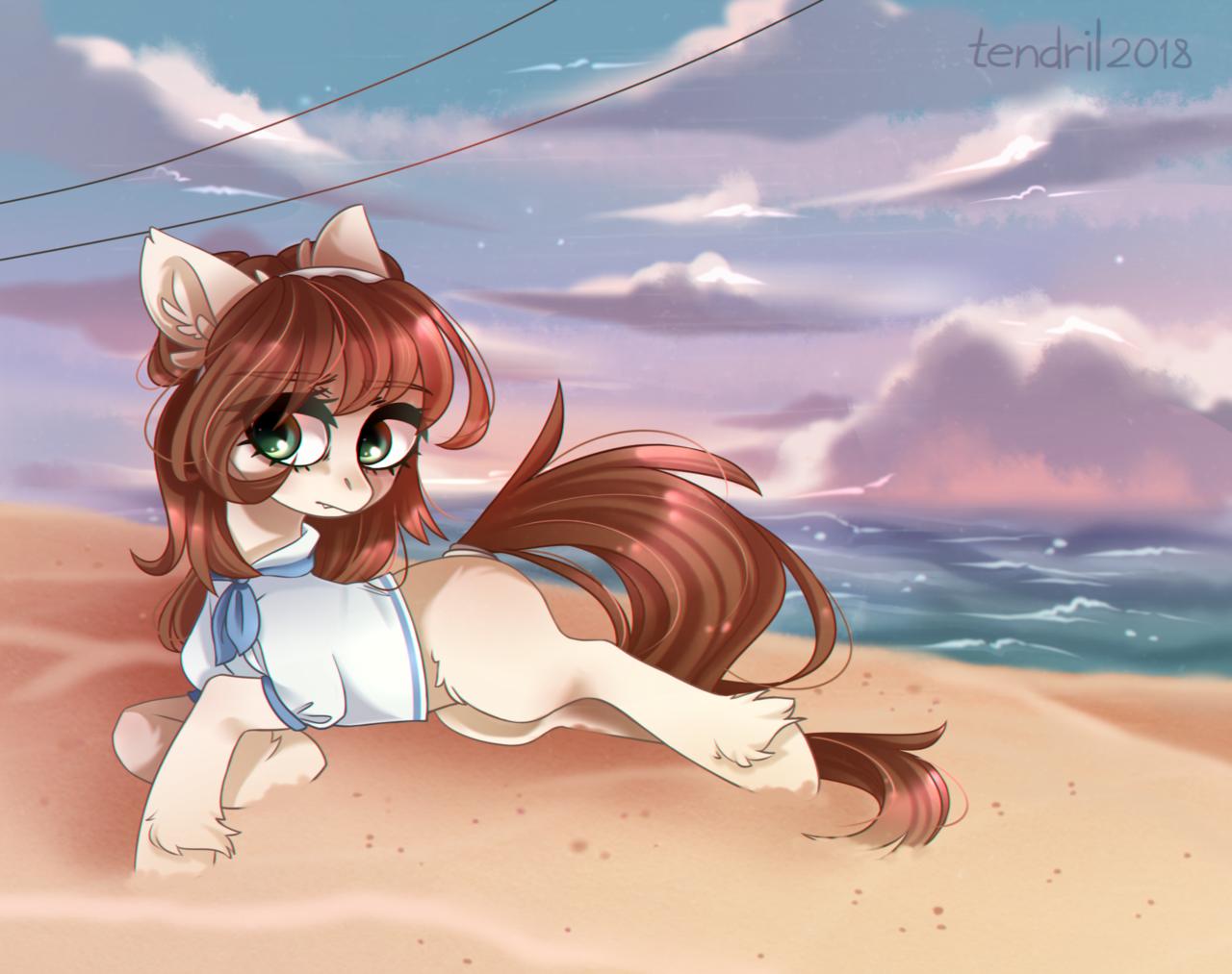 Beach dril