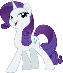 Size: 1600x1854 | Tagged: artist:xylobiose, movie accurate, pony, rarity, safe, simple background, solo, transparent background, vector