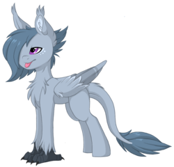 Size: 941x902 | Tagged: artist:melodytheartpony, fluffy, hippogriff, hybrid, oc, pony, safe, simple background, transparent background