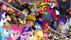 Size: 1280x720 | Tagged: alicorn, applejack, artist:isupersonic95, bowser, crash bandicoot, crossover, crossover shipping, cuphead, cuphead (character), doctor eggman, edit, editor:isupersonic95, female, fluttershy, god of war, goku, king dice, kratos, luigi, luigishy, luitwi, male, maridash, mario, mariopie, marioshy, master chief, mugman, my little pony: the movie, neo cortex, nyan cat, pinkie pie, rainbow dash, rarity, safe, shadow the hedgehog, shipping, sonic forces, sonic the hedgehog, sonic the hedgehog (series), storm king, straight, super mario bros., tempest shadow, the devil, twilight sparkle, twilight sparkle (alicorn), wallpaper