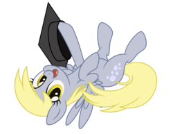 Size: 4410x3411   Tagged: safe, artist:mirrorcrescent, derpy hooves, pegasus, pony, cute, female, looking at you, mare, simple background, solo, transparent background