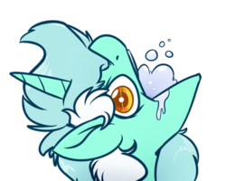 Size: 1024x819 | Tagged: safe, artist:witchtaunter, lyra heartstrings, pony, unicorn, comic, female, gargling, majestic as fuck, mare, silly, silly lyra, silly pony, simple background, solo, transparent background