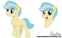 Size: 1024x622 | Tagged: safe, artist:showtimeandcoal, oc, oc only, oc:blank slate, pony, unicorn, colt, commission, digital art, head shot, male, missing cutie mark, movie accurate, present, reference sheet, simple background, solo, stallion, style, transparent background, ych example, your character here