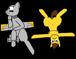 Size: 2815x2197 | Tagged: safe, artist:not-immortal, oc, oc only, oc:sierra summit, original species, plane pony, pony, a-10 thunderbolt ii, bored, plane, simple background, sitting, transparent background