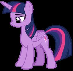 Size: 3984x3904 | Tagged: safe, artist:andoanimalia, twilight sparkle, alicorn, pony, surf and/or turf, female, lidded eyes, simple background, solo, transparent background, twilight sparkle (alicorn), vector