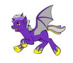 Size: 1216x1052 | Tagged: safe, artist:riverfox237, oc, oc:aleph null, alicorn, bat pony, lordgorogok