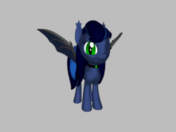 Size: 1200x900 | Tagged: safe, oc, oc only, oc:emerald, bat pony, 3d, bat pony oc, female, simple background, solo, source filmmaker, transparent background