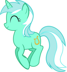 Size: 6400x6878 | Tagged: safe, artist:oatscene, artist:parclytaxel, lyra heartstrings, pony, unicorn, a friend in deed, .svg available, absurd resolution, cute, female, lyrabetes, mare, pronking, simple background, smile song, smiling, solo, transparent background, vector