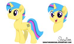 Size: 7496x4500 | Tagged: safe, artist:showtimeandcoal, oc, oc only, oc:livewire, pony, unicorn, absurd resolution, colt, commission, digital art, head shot, male, movie accurate, music, music notes, reference, reference sheet, simple background, solo, stallion, style, transparent background, vector, ych result