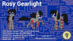 Size: 1920x1080   Tagged: safe, artist:wvdr220dr, oc, pony, robot, robot pony, imfomaz os