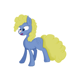 Size: 3000x3000 | Tagged: safe, oc, earth pony, pony, female, mare, random, simple background, solo, surprised, weird, white background