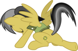 Size: 1024x673 | Tagged: artist:davidfg4, daring do, daring don't, female, landing, mare, pegasus, pony, safe, simple background, solo, stance, transparent background, vector