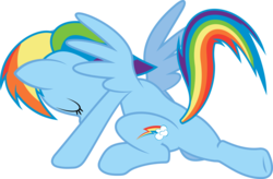 Size: 1024x673 | Tagged: artist:davidfg4, base used, daring don't, female, landing, mare, pegasus, plot, pony, rainbow dash, rainbutt dash, safe, simple background, solo, stance, transparent background, vector, vector trace