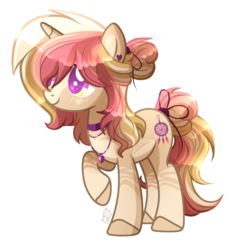 Size: 2064x2100 | Tagged: artist:sugaryicecreammlp, base used, commission, digital art, female, hair over one eye, high res, mare, oc, oc:morning glory, oc only, pony, safe, signature, simple background, smiling, solo, transparent background, unicorn, wingding eyes