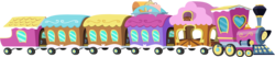 Size: 14349x3000 | Tagged: absurd res, artist:brainchildeats, friendship express, hearth's warming eve (episode), no pony, resource, safe, simple background, .svg available, train, transparent background, vector, vehicle