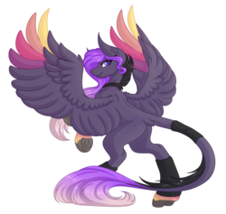 Size: 5200x4928 | Tagged: safe, artist:amazing-artsong, oc, oc only, pegasus, pony, absurd resolution, art trade, female, mare, simple background, solo, transparent background