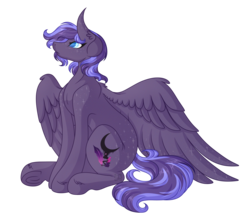 Size: 4602x4008 | Tagged: safe, artist:amazing-artsong, oc, oc:annabelle, pegasus, pony, absurd resolution, female, large wings, patreon, patreon reward, simple background, sitting, solo, transparent background, wings