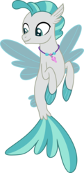 Size: 1975x4079 | Tagged: safe, artist:phucknuckl, terramar, seapony (g4), surf and/or turf, male, simple background, solo, tail, transparent background, vector