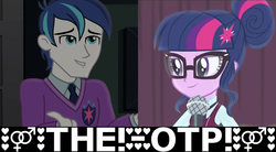 Size: 1252x690 | Tagged: safe, edit, edited edit, edited screencap, screencap, sci-twi, shining armor, twilight sparkle, equestria girls, friendship games, alumnus shining armor, boy, brother and sister, brothers, caption, clothes, collar, crystal prep, crystal prep academy, crystal prep academy students, crystal prep academy uniform, cutie mark, door, dress, exclamation point, family, female, female symbol, glasses, hairbuns, hairpin, heart, heat, incest, infidelity, intercourse, male, male symbol, man, meme, microphone, microphone stand, ms paint, necktie, otp, school, school uniform, schoolboy, schoolgirl, scitwishining, shiningsparkle, shipping, shirt, siblings, sisters, stars, straight, student, sweater, symbol, symbolism, symbols, text, text edit, twicest, uniform, wall of tags, woman