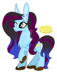 Size: 1024x1304 | Tagged: artist:lilygarent, deviantart watermark, earth pony, female, mare, obtrusive watermark, oc, oc:janess, pony, safe, simple background, solo, transparent background, watermark