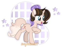 Size: 1024x771 | Tagged: artist:brightmoonyt, female, mare, oc, oc:lavender art, pony, safe, solo, unicorn