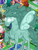 Size: 321x423 | Tagged: safe, idw, amira, princess luna, rabia, saddle arabian, umbrum, siege of the crystal empire, game screencap, gameloft, idw showified, raised hoof, solo