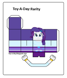 Size: 600x699 | Tagged: safe, artist:grapefruitface1, rarity, equestria girls, arts and crafts, craft, female, papercraft, printable, toy a day