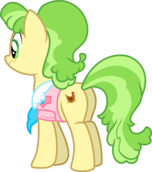 Size: 3000x3402 | Tagged: safe, artist:jeatz-axl, chickadee, ms. peachbottom, earth pony, pony, female, mare, plot, simple background, solo, transparent background, vector