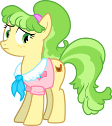 Size: 3000x3375 | Tagged: safe, artist:jeatz-axl, chickadee, ms. peachbottom, earth pony, pony, female, simple background, solo, transparent background, vector