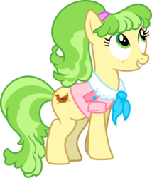 Size: 3000x3511   Tagged: safe, artist:jeatz-axl, chickadee, ms. peachbottom, earth pony, pony, female, mare, simple background, solo, transparent background, vector