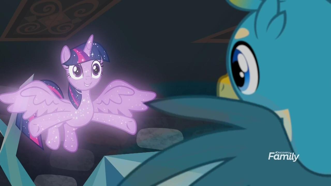 1843708 - safe, screencap, gallus, tree of harmony, twilight sparkle,  alicorn, what lies beneath, treelight sparkle, twilight sparkle (alicorn) -  Derpibooru