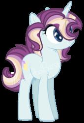 Size: 842x1231 | Tagged: safe, artist:macaroonburst, oc, oc:star wing, pony, unicorn, female, mare, simple background, solo, transparent background